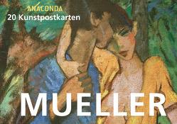 Postkartenbuch Otto Mueller