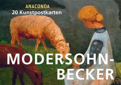 Postkartenbuch Paula Modersohn-Becker von Modersohn-Becker,  Paula