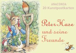 Postkartenbuch Peter Hase und seine Freunde von Potter,  Beatrix