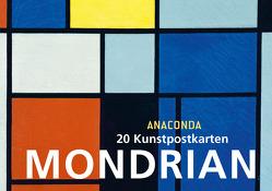 Postkartenbuch Piet Mondrian von Mondrian,  Piet