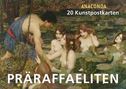 Postkartenbuch Präraffaeliten von Anaconda