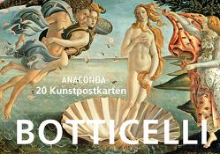 Postkartenbuch Sandro Botticelli von Botticelli,  Sandro