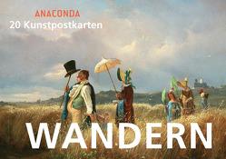 Postkartenbuch Wandern von Anaconda
