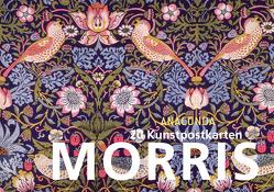 Postkartenbuch William Morris von Morris,  William
