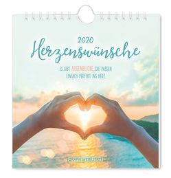 "Postkartenkalender 2020 ""Herzenswünsche"""
