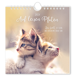 """Postkartenkalender 2021 """"Auf leisen Pfoten"""""""