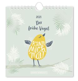 """Postkartenkalender 2021 """"Der frühe Vogel"""""""
