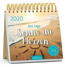 Postkartenkalender 365 Tage Sonne im Herzen 2020 – Wochenkalender mit abtrennbaren Postkarten