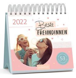 Postkartenkalender Beste Freundinnen 2022 – Wochenkalender mit abtrennbaren Postkarten