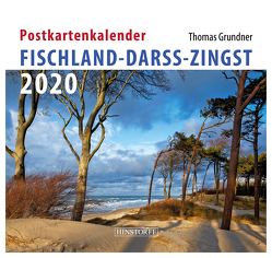 Postkartenkalender Fischland, Darß, Zingst 2020 von Grundner,  Thomas