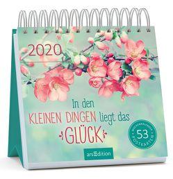Postkartenkalender In den kleinen Dingen liegt das Glück 2020 – Wochenkalender mit abtrennbaren Postkarten