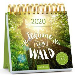 Postkartenkalender Träume vom Wald 2020 – Wochenkalender mit abtrennbaren Postkarten