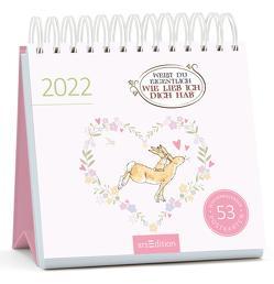 Postkartenkalender Weißt du eigentlich, wie lieb ich dich hab 2022 von Jeram,  Anita, McBratney,  Sam