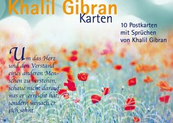 Postkartenset Khalil Gibran von Gibran,  Khalil