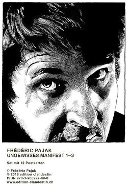 Postkartenset Pajak von Pajak,  Frédéric