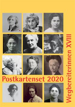 Postkartenset: Wegbereiterinnen XVIII von Notz,  Gisela