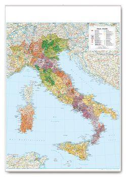Postleitkarte Italien