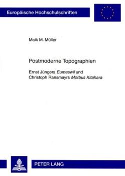 Postmoderne Topographien von Müller,  Maik M.