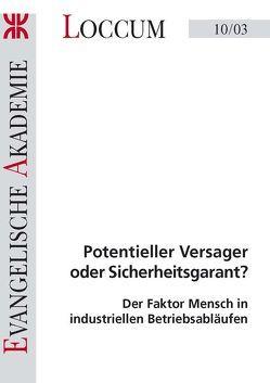 Potentieller Versager oder Sicherheitsgarant? von Dally,  Andreas, Hartwig,  Sylvius, Heins,  Bernd, Stephan,  Ursula