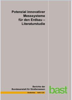 Potenzial innovativer Messsysteme für den Erdbau von Jänicke,  R., Manke,  R., Radenberg,  M, Steeb,  H.