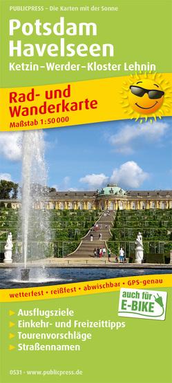 Potsdam – Havelseen, Ketzin – Warder – Kloster Lehnin