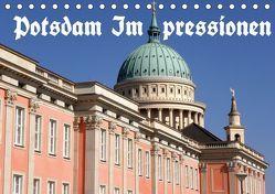 Potsdam Impressionen (Tischkalender 2019 DIN A5 quer) von Wolfgang Schneider,  Bernhard