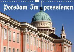 Potsdam Impressionen (Wandkalender 2019 DIN A4 quer) von Wolfgang Schneider,  Bernhard