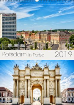 Potsdam in Farbe (Wandkalender 2019 DIN A2 hoch) von Niemann,  Maro