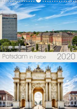 Potsdam in Farbe (Wandkalender 2020 DIN A3 hoch) von Niemann,  Maro