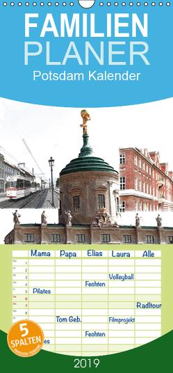 Potsdam Kalender – Familienplaner hoch (Wandkalender 2019 , 21 cm x 45 cm, hoch) von Witkowski,  Bernd