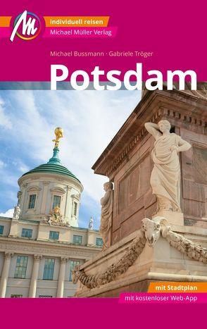 Potsdam MM-City Reiseführer Michael Müller Verlag von Bussmann,  Michael, Tröger,  Gabriele