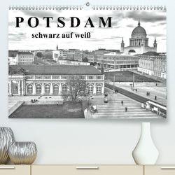 Potsdam schwarz auf weiß (Premium, hochwertiger DIN A2 Wandkalender 2020, Kunstdruck in Hochglanz) von Witkowski,  Bernd