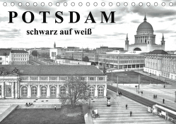 Potsdam schwarz auf weiß (Tischkalender 2019 DIN A5 quer) von Witkowski,  Bernd