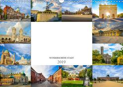 Potsdam Wunderschöne Stadt (Wandkalender 2019 DIN A3 quer) von Meutzner,  Dirk