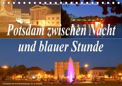 Potsdam zwischen Nacht und blauer Stunde (Tischkalender 2020 DIN A5 quer) von Wolfgang Schneider,  Bernhard