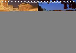 Potsdam zwischen Nacht und blauer Stunde (Tischkalender 2021 DIN A5 quer) von Wolfgang Schneider,  Bernhard