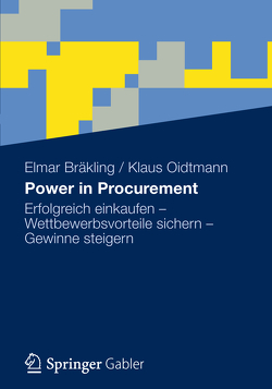 Power in Procurement von Bräkling,  Elmar, Oidtmann,  Klaus