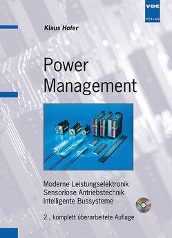 Power Management von Hofer,  Klaus