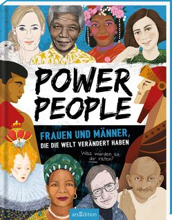 Power People – Frauen und Männer, die die Welt verändert haben von Jaeger,  Andreas