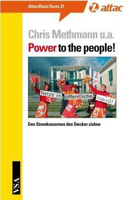 Power to the People! von Methmann,  Chris, Sander,  Hendrik, Sundermann,  Jutta
