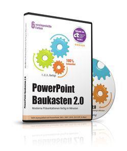 PowerPoint Baukasten 2.0 (2018) – Präsentationen fertig in Minuten von Cremer,  Samuel, www.futurepacemedia.de, www.memoryimpact.com
