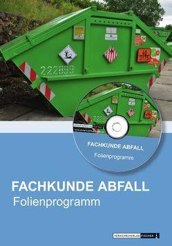 Powerpoint/Folienprogramm Fachkunde Abfall von Brand,  Dr. Joachim, Müller,  Prof. Dr. Norbert