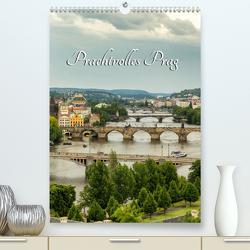 Prachtvolles Prag (Premium, hochwertiger DIN A2 Wandkalender 2021, Kunstdruck in Hochglanz) von Klinder,  Thomas