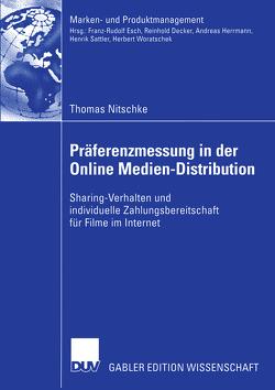 Präferenzmessung in der Online Medien-Distribution von Nitschke,  Thomas