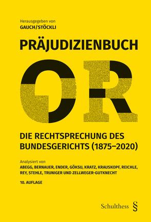 Präjudizienbuch OR von Gauch,  Peter, Stöckli ,  Hubert