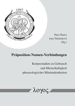 Präposition-Nomen-Verbindungen von Ďurčo,  Peter, Tabacekova,  Jana