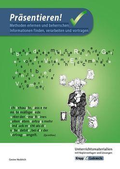 Präsentieren – Lehrerheft mit DVD von Krapp,  Günter, Zenner,  Cornelia
