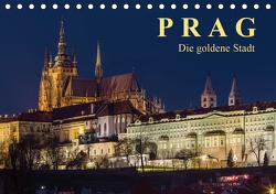 Prag – die goldene Stadt (Tischkalender 2021 DIN A5 quer) von Caccia,  Enrico