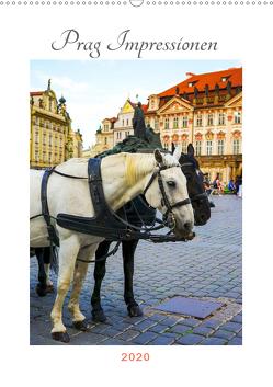 Prag Impressionen (Wandkalender 2020 DIN A2 hoch) von Wankmüller,  Julia