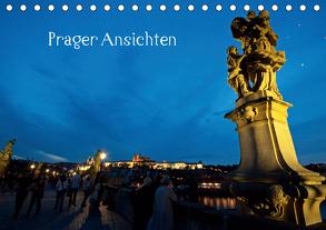 Prager Ansichten (Tischkalender 2020 DIN A5 quer) von Schneider www.ich-schreibe.com,  Michaela